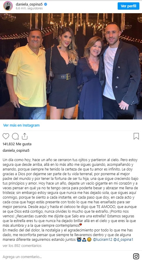 Daniela Ospina, Hernán Ospina, David Ospina (1)