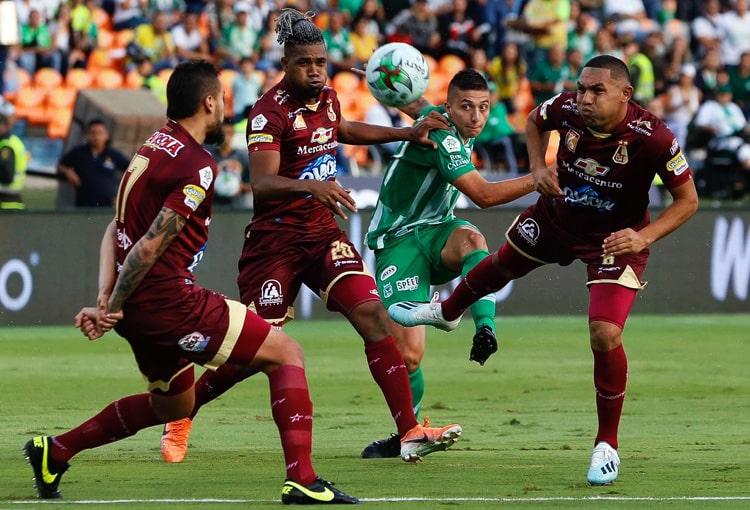 Danovis Banguero, Deportes Tolima, Atlético Nacional (1)