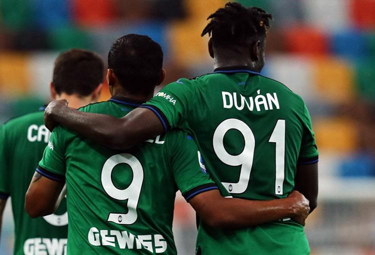 Duván Zapata, Luis Fernando Muriel, Atalanta BC, Serie A 2019-20 (6)