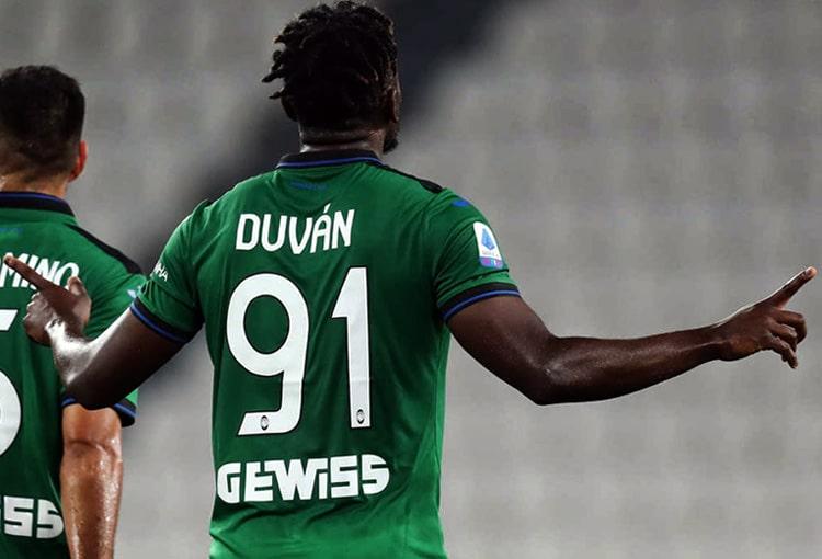 Duván Zapata, Atalanta BC, Serie A 2019-20, Juventus FC