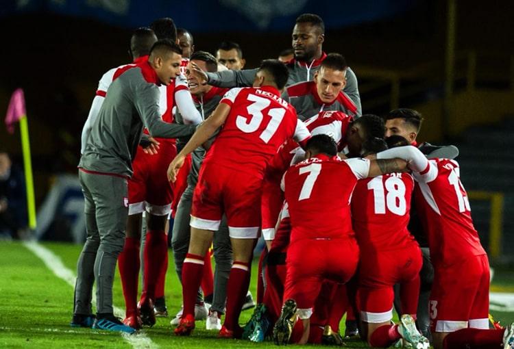 Independiente Santa Fe, COVID-19, Liga 2020-I, Fabián Sambueza