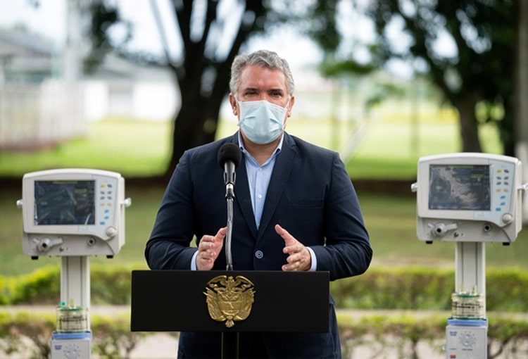 Iván Duque, Colombia, coronavirus COVID-19 (41)