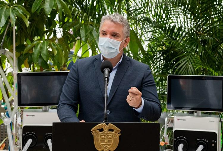 Iván Duque, Colombia, coronavirus COVID-19 (43)
