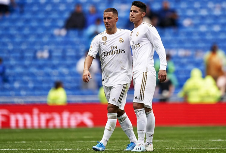 James Rodríguez, Real Madrid, LaLiga 2019-20 (17)