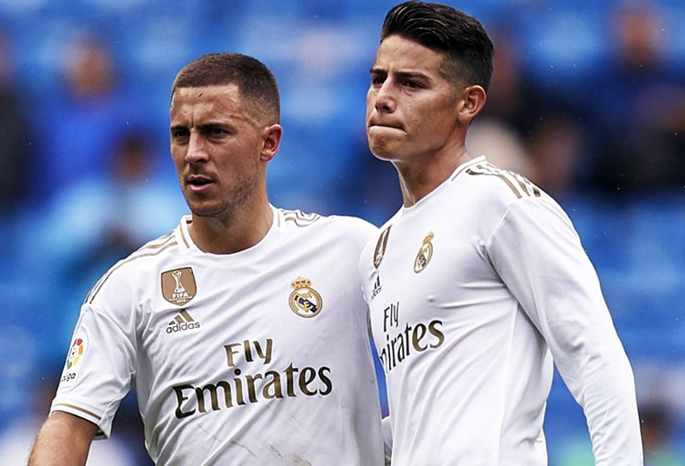 James Rodríguez, Real Madrid, LaLiga 2019-20 (19)