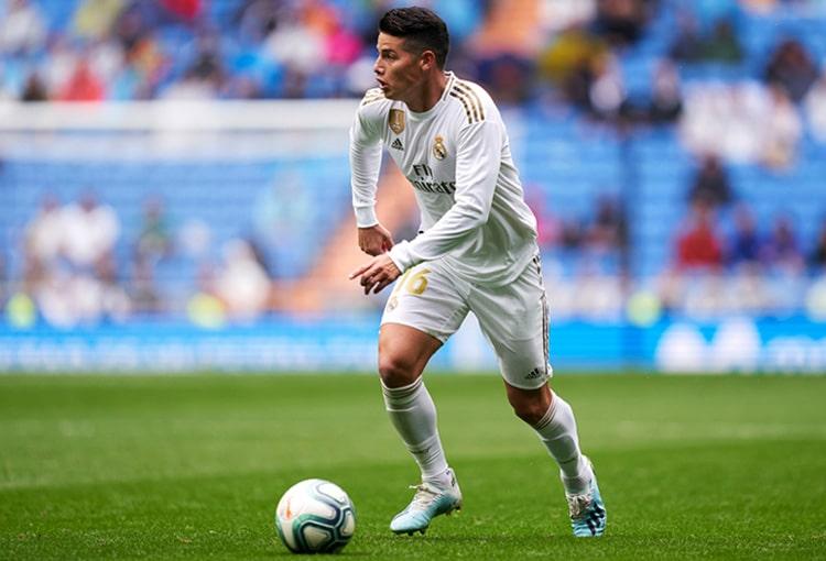 James Rodríguez, Real Madrid, Manchester United, Atlético de Madrid, Inter de Milán, AC Milan, SSC Napoli