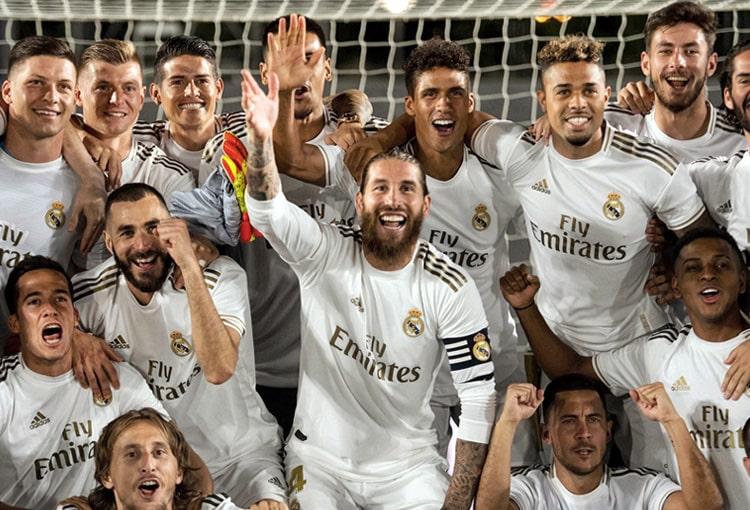 James Rodríguez, Real Madrid, campeón, LaLiga 2019-20