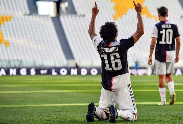 Juan Guillermo Cuadrado, Juventus 4 - 1 Torino, Serie A 2019-20