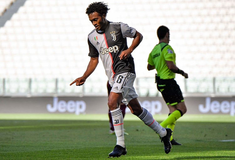 Juan Guillermo Cuadrado, Juventus FC, Serie A 2019-20 (10)