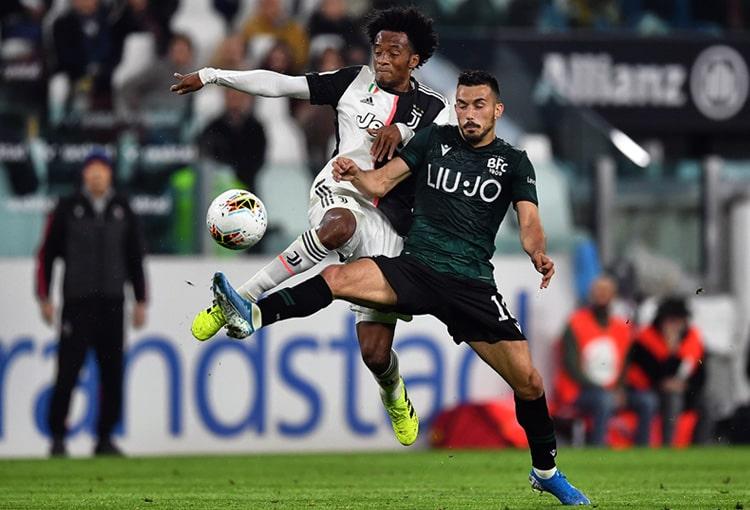 Juan Guillermo Cuadrado, Juventus FC, Serie A 2019-20 (9)