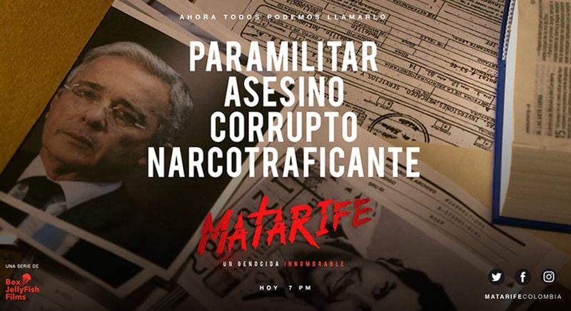 Matarife, capítulo 4, Álvaro Uribe Vélez (2)