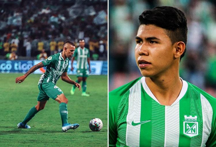 Neyder Moreno, Nicolás Hernández, Atlético Nacional