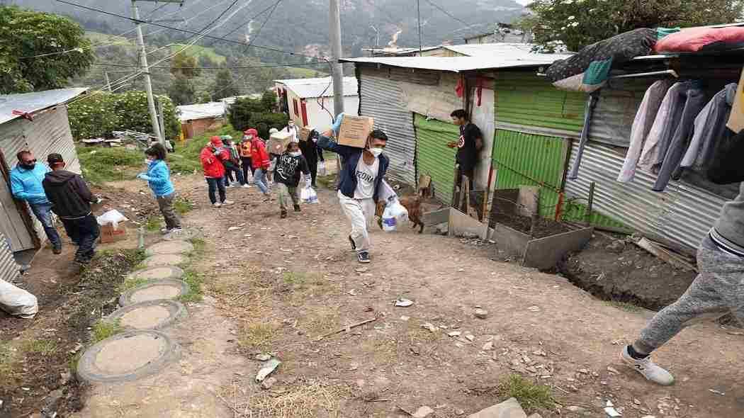 Quiénes se benefician de Bogotá Solidaria en Casa