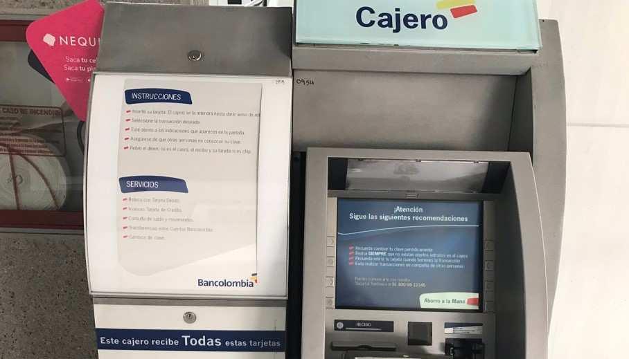 Retirar en cajeros Bancolombia el aporte de Bogotá Solidaria en Casa