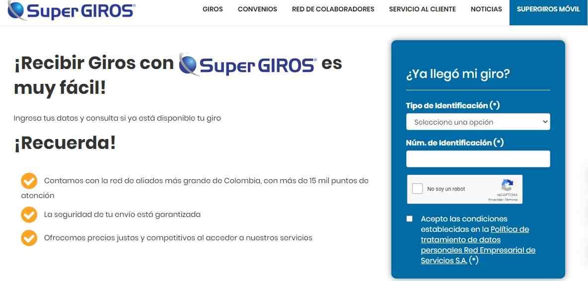 Consulte si el Ingreso Solidario llegó por SuperGIROS