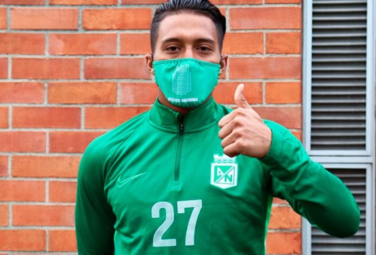 Sebastián Gómez, Atlético Nacional, entrenamiento, julio 9