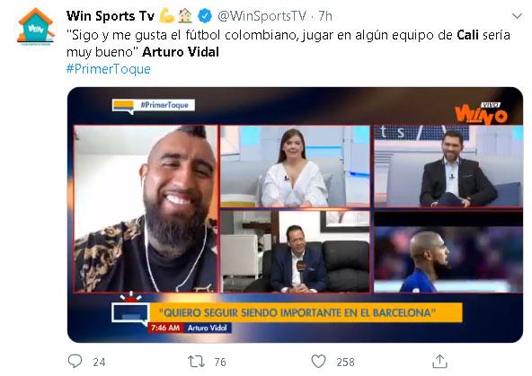 Arturo Vidal America Deportivo Cali
