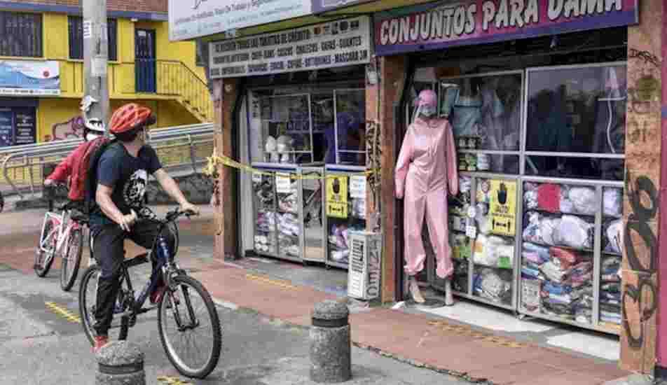 ¿Cómo es la renta básica en Bogotá durante la alerta naranja?