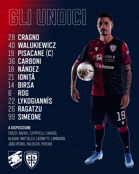 Sampdoria 3 Vs 0 Cagliari Por La Jornada 33 De La Serie A