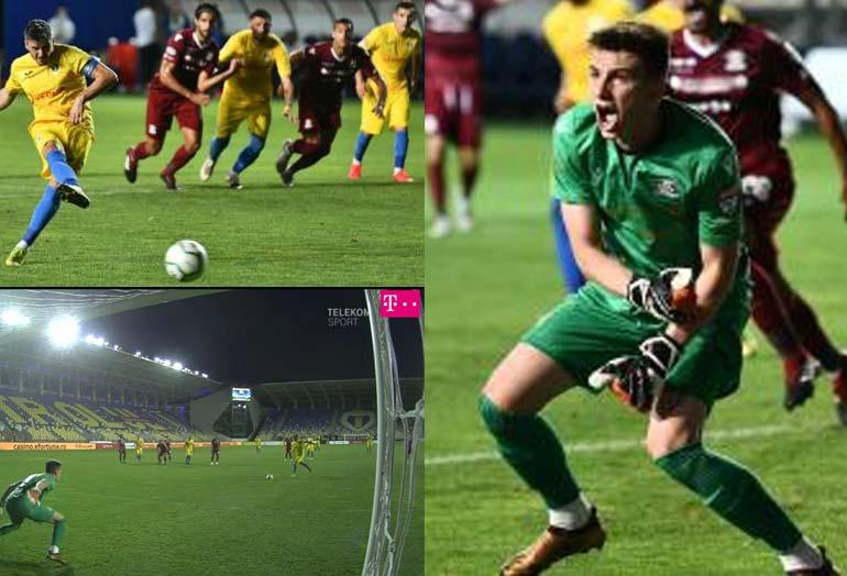 penalti Rumania