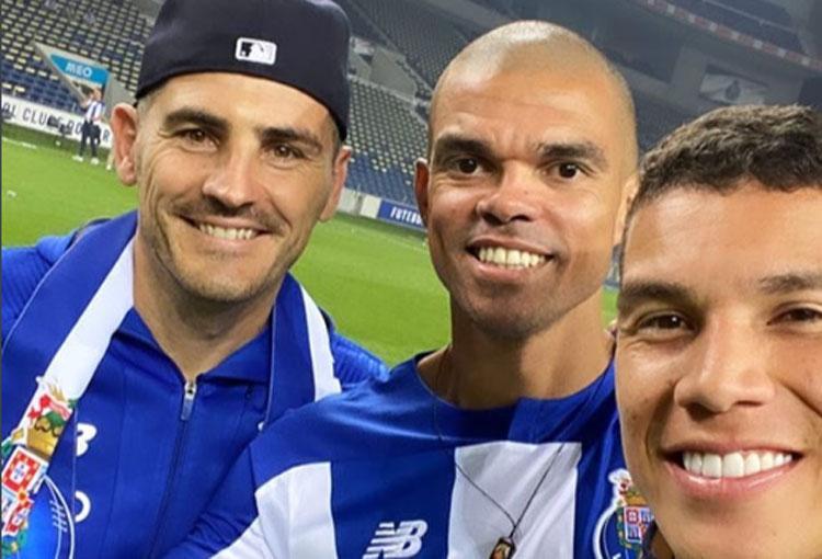 Porto Iker Casillas Matheus Uribe Luis Diaz