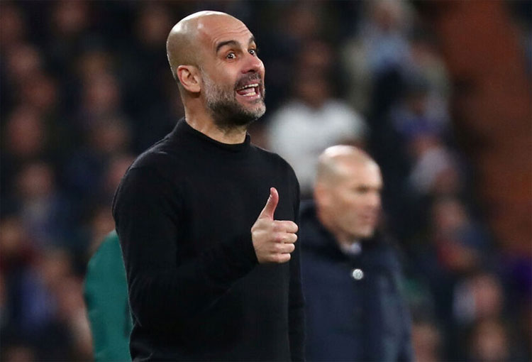 Pep Guardiola Champions League