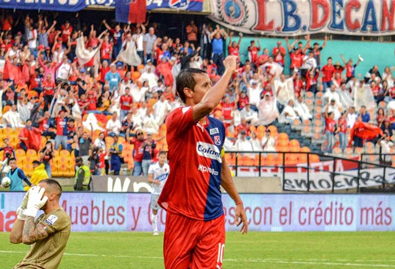 Andrés Ricaurte, DIM 3-1 Patriotas Boyacá, Liga 2020-I