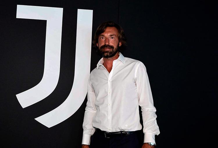 Andrea Pirlo, nuevo director técnico, Juventus FC