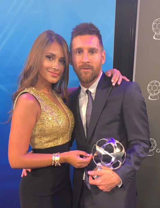 Antonela Roccuzzo, Lionel Messi (6)
