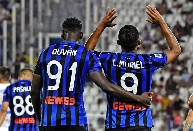 Atalanta, Duván Zapata, Luis Fernando Muriel, Champions League 2019-20