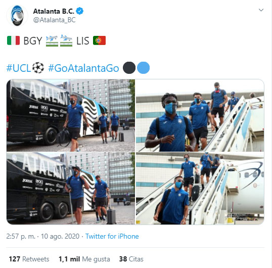 Atalanta, París Saint-Germain, Champions League 2019-20, Luis Fernando Muriel, Duván Zapata (1)