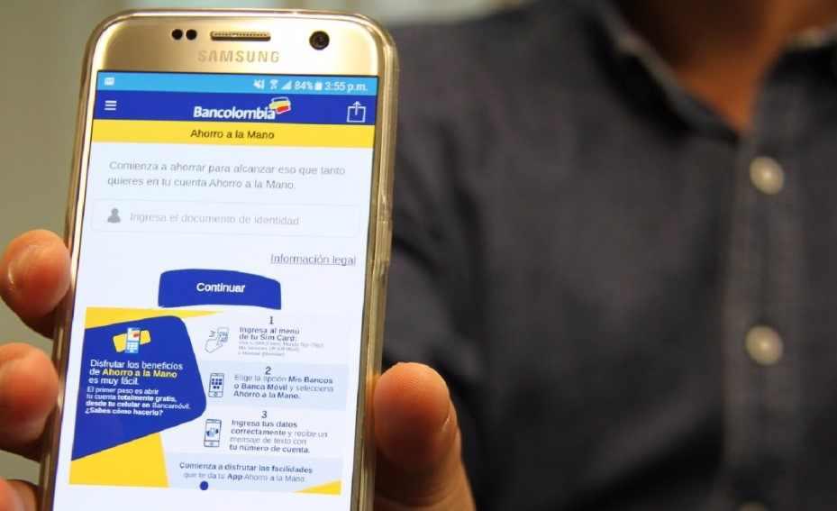 Cuarto Ingreso Solidario: Saldo y cobro en Ahorro a La Mano Bancolombia