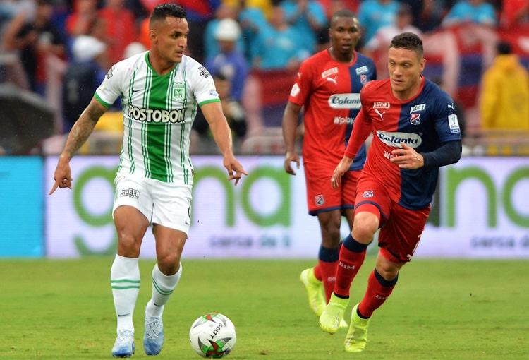 DIM 1-3 Atlético Nacional, Liga 2020-I