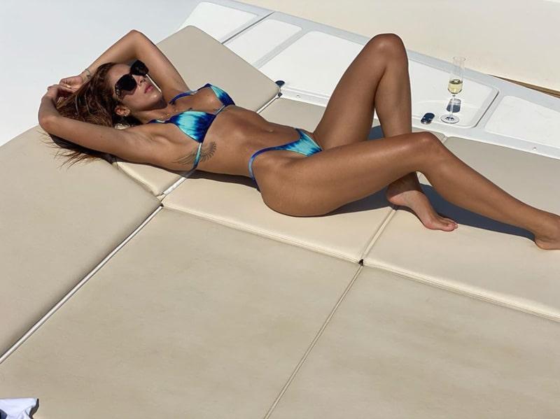 Daniela Ospina, candentes fotos, Italia (1)