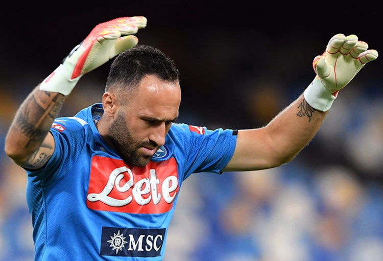 David Ospina, Napoli, Champions League 2019-20 (1)