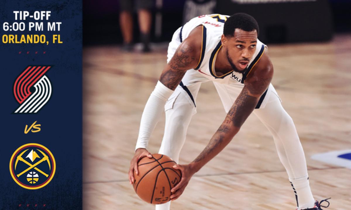 Dónde puedo ver en vivo Denver Nuggets vs Portland Trail Blazers por la NBA  | Denver Nuggets vs Portland Trail Blazers EN VIVO