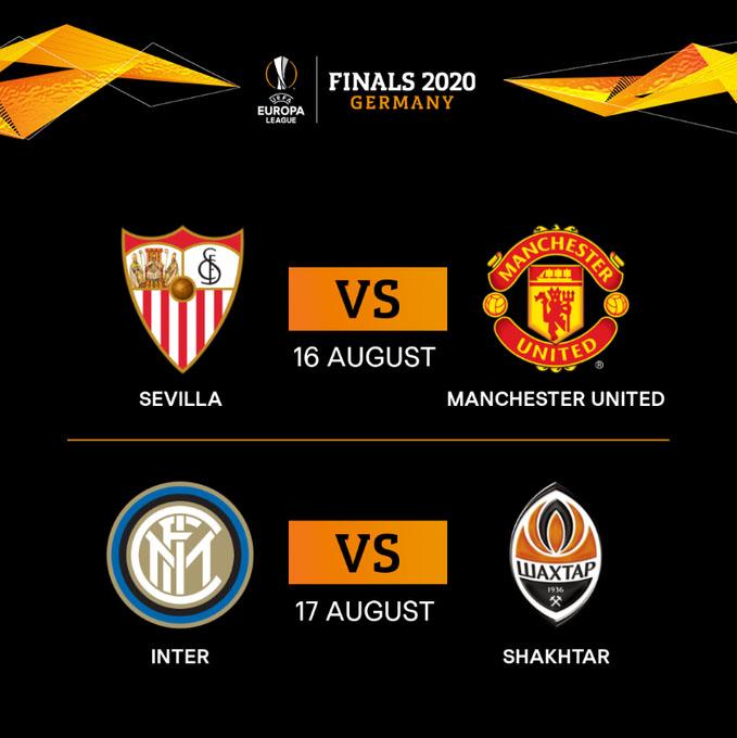 Europa League 2019-20, semifinales