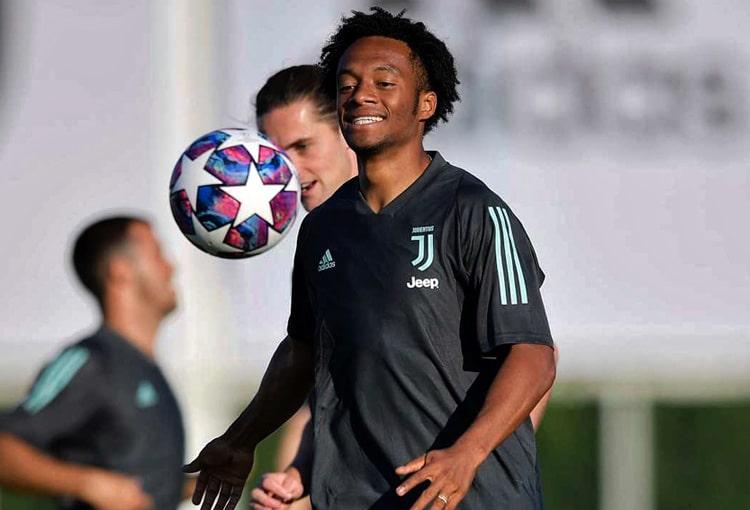 Juan Guillermo Cuadrado, Juventus, Champions League 2019-20