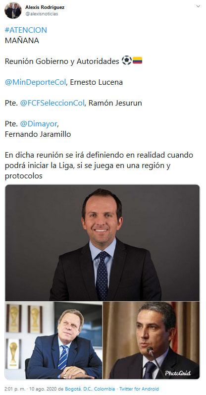 Liga 2020-I, Torneo 2020-I, Alexis Rodríguez