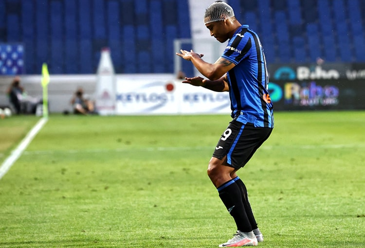 Luis Fernando Muriel, Duván Zapata, Atalanta, Champions League 2019-20