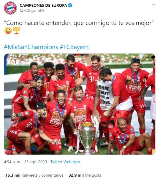 Maluma, Neymar, Bayern Múnich, París Saint-Germain, Champions League 2019-20, burla