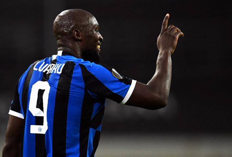 Romelu Lukaku, Inter de Milán, Europa League 2019-20, semifinales