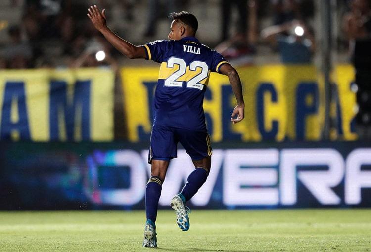 Sebastián Villa, Daniela Cortés, Boca Juniors, Copa Libertadores 2020