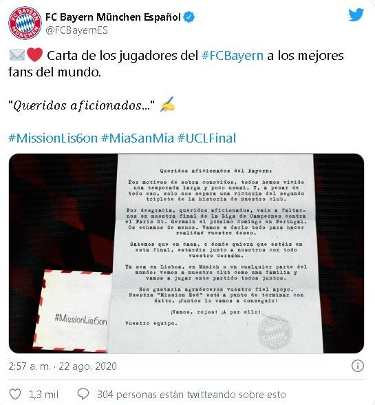 Bayern Munich PSG Champions League