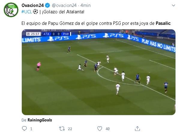 Duvan Zapata Atalanta PSG