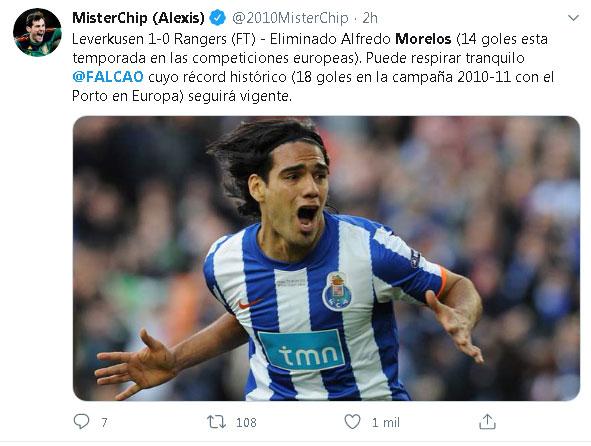 Falcao Garcia Alfredo Morelos