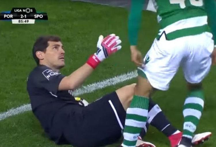 Iker Casillas Fredy Montero