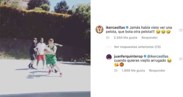 Iker Casillas colombianos