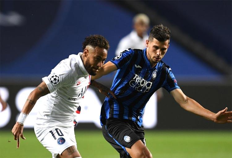 Neymar Atalanta PSG Champions League