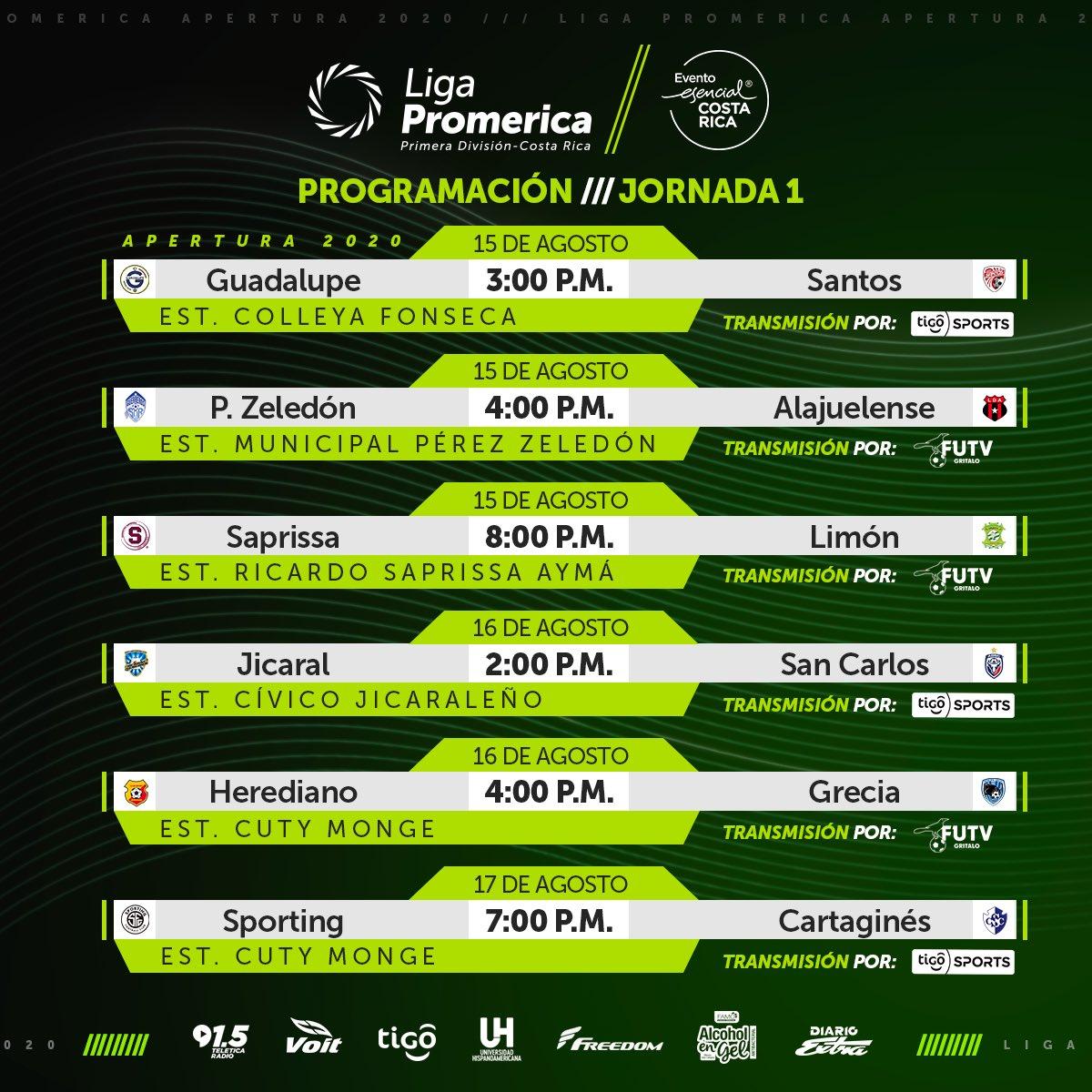 Deportivo Saprissa vs Limón en vivo online por la primera jornada de la Liga Promerica de Costa Rica 1